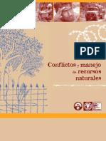 Conflictos y El Manejo de Recursos Naturales.