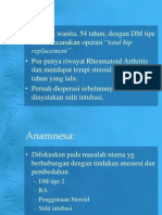 Anesthesia for Diabetic Patients
