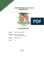 Informe de Los Mixtecas