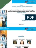 Estructura Experiencia Maestria EaD UNA Equipo 9-1