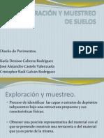 EXPLORACIÓN Y MUESTREO DE SUELOS