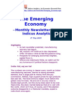 Emerging Economy May 2009 Indicus Analytics