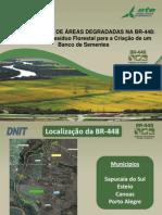 RECUPERAÇÃO DE ÁREAS DEGRADADAS NA BR-448