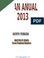 78544532 Plan Anual Quinto Primaria 2012