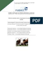 Efeito da nutrição sobre a reprodução de ruminantes uma revisão