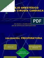 Anestesia Cardiaca