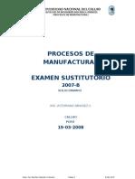 Examen Sustitutorio 19-03-2008 Procesos i