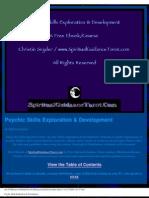 Free Psychic Skills Book
