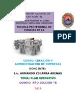 Plan Operativo Expo