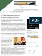 «Quante stupidaggini, vado via» E Arbasino rifiuta il Boccaccio - Corriere della Sera