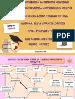 Trabajo de Redes Red Agroalimentaria 2013
