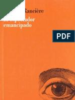 RANCIERE, Jacques - El espectador emancipado [libro completo].pdf