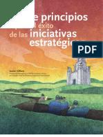Siente Principios de las Iniciativas Estratégicas