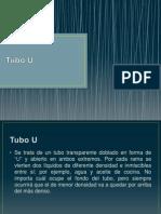 Tubo U