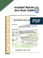 Educacion en El Peru