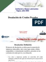 PDVSA - Desalacion Crudos Pesados