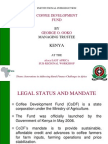 456Introduction of Coffe Development Fund