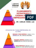 Planeamiento Estrategico y Cadena de Valor Empresarial Villarreal 2013 -2