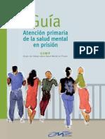 Atencion Primaria de La Salud Mental en Prision