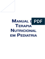 Manual Terapia Nutricional Em Pediatria Nestle