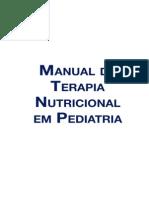 Manual Terapia Nutricional Em Pediatria Nestle