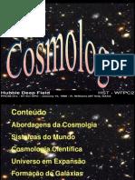 Aula 11 Cosmologia