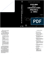 Estudios de La Constitucion Politica de 1993 - Marcial Rubio Correa - Vol. 3