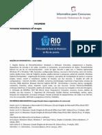 (Informática para Concursos - PGM RJ 2013 médio teoria e questões)