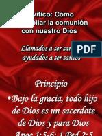 Levítico santidad practica VIII IBE Callao