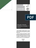 Avaliação qualitativa I_Pedro Demo