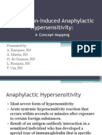 Unrecognized Pre-Hospital Anaphylactic Hypersensitivity