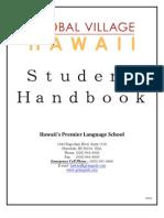 GV Student Handbook Global Village Hawaii