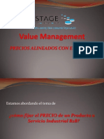 06PRICING Value Management en Empresas B2B Presentacion VISTAGE