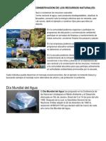 Actividades Para Conservacion de Los Recursos Naturales