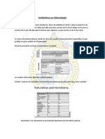 Antimicrobianos y Practica Dental
