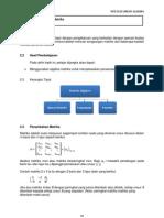 09 Topik 2 Matriks Algebra