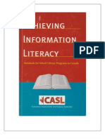 achieving information literacy