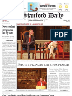 05/12/09 - The Stanford Daily [PDF]