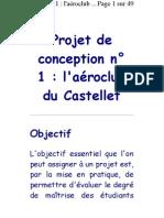 Projet de conception n° 1  l'aéroclub du Castellet