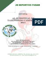 Reglamento Festival Infantil Campestre Julio 2013(1)
