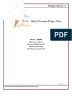 Project Completion Plan- Oldie's Global Initiative Project