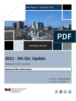 4th Qtr. 2012 Downtown Report by Bryan Cole