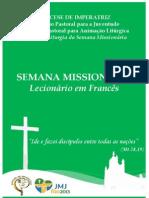LECIONÁRIO EM FRANCÊS Semana Missionária.pdf