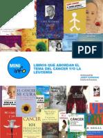 Libros que abordan el tema del cáncer o la leucemia