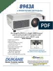 Dukane Imagepro 8943A