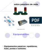 Equipamentos Passivos de Rede Rute