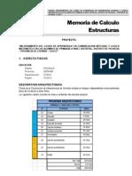 01 - Memoria de Calculo Estucturas Edificaciones