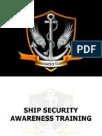 Ship Security Awareness Training