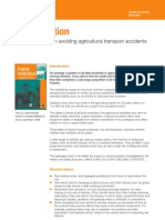 Practical Advice on Avoiding Agricultural Transport Accidents