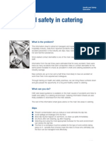 Health and Safety in Catering